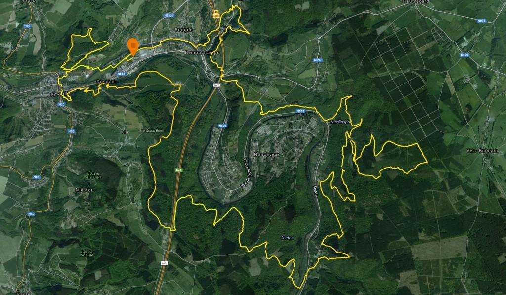 OHM Trail Parcours